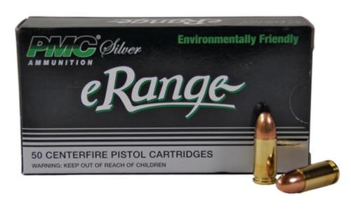 PMC Silver Line Erange 9mm 115 Gr, Encapsulated Metal Jacket, Non-Toxic, 50rd/Box 20 Box/Case