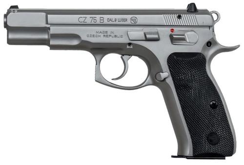 CZ 75B 9mm Stainless Steel Matte Finish 16 Round Mag