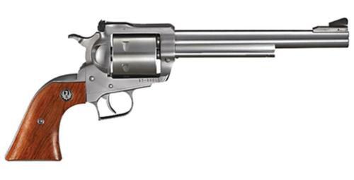 "Ruger Super BlackHawk Standard 44 RemMag 7.5"" 6rd Rosewood Grip Stainless"