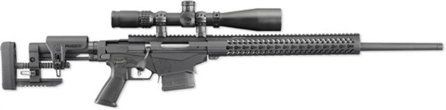 """Ruger Precision Rifle, Bolt Action, .308 Win, 20"""", Folding Stock, Black"""