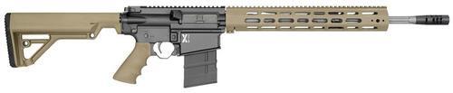 "Rock River LAR-8 X-1 Rifle, Tan, Operator CAR Stock 18"" Barrel 20 Rd Mag"