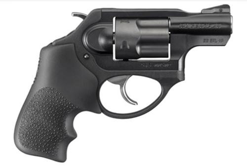 Ruger LCR Double Action Revolver 38 Special, Hogue Grip, 5rd
