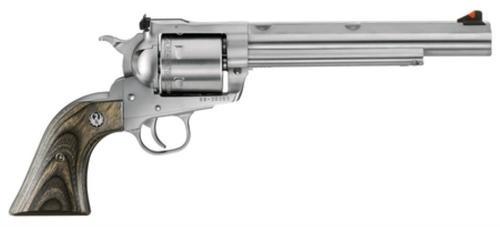 """Ruger Super BlackHawk Hunter 44 Rem Mag 7.5"""" SS Barrel Black Laminate Wood Grips, 6rd"""