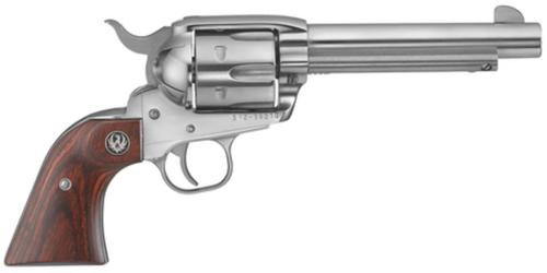 "Ruger Vaquero 357/38 Spl, 5.5"" Barrel, Stainless Steel Finish"