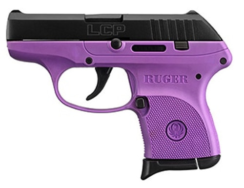 Ruger LCP 380 ACP Lady Lilac Purple, 6 Round