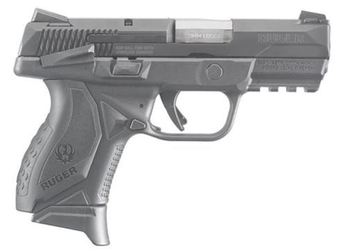 "Ruger American Compact 9mm 3.55"" Barrel 10 Rd Mag"
