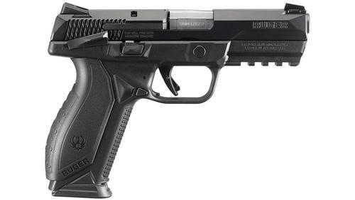 "Ruger American Duty Model 9mm, 4.2"" Barrel, Manual Safety, 17rd"