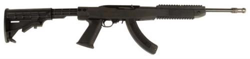 Ruger 10/22, TAPCO Assault Stock, Flash Suppressor and 25 Round Magazine