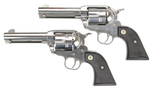 """Ruger SASS Vaquero, 357/38 Spl, 4.62"""", Stainless, Price Shown is for Single Gun, Select two in Cart"""