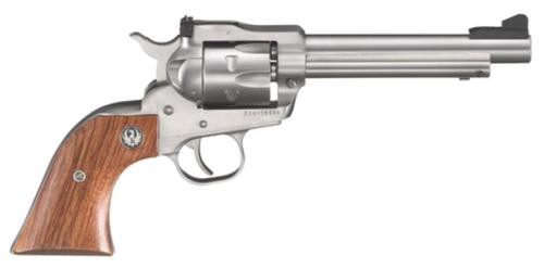 """Ruger Single-Six Convertible 22LR/22Mag 5.5"""" 6rd Rosewood Grip Stainless"""