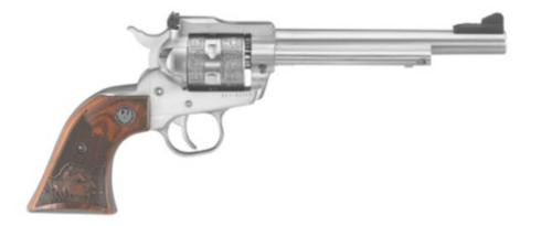 """Ruger Single-Six Stainless Steel, 22LR / .22 Mag, 6.5"""", 6rd, TALO Engraved"""