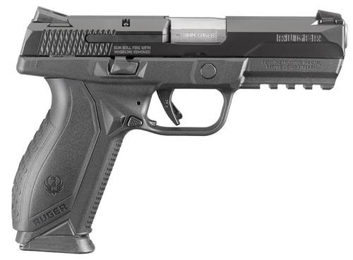 Ruger American Pistol 9mm Blue 10 Rd Mag for Compliant States