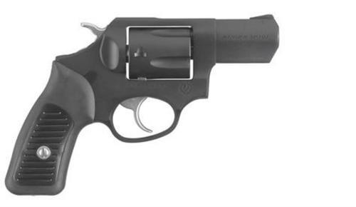 """Ruger SP101 357 Magnum, 2.25"""", 5rd, Fixed Sights, Black Cerakote"""