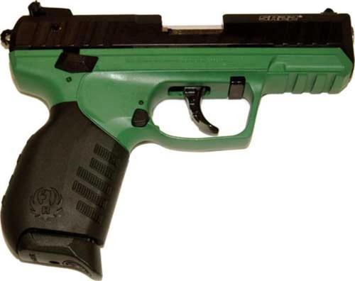 RUGER SR22PB FARMER GREEN .22LR 10-SHOT