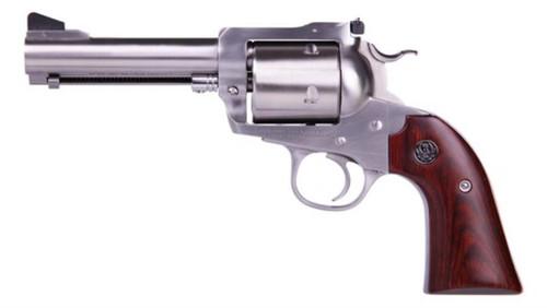"""Ruger Super Blackhawk Bisley 480 Ruger 4 5/8"""" Barrel; SS, Wood Grips"""