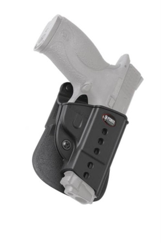 Fobus Evolution 2 Series Roto Paddle Holster For Smith & Wesson M&P, Black, Left Hand
