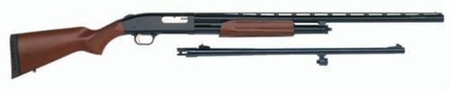 "Mossberg 500 Field/Deer Combo Pump 12 Gauge 28""/ 24"" Wood Stock Blued"