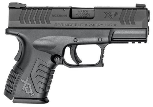 "Springfield XDM Compact, .40 S&W, 3.8"", 11rd, Black"