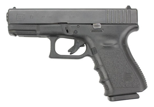 """Glock 19 Gen3 9mm, 4"""", 15rd, Fixed Sights, USED"""