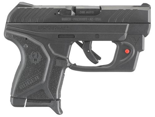"""Ruger LCP II with Viridian Red Laser380 ACP 2.75"""" Barrel Black Polymer Grip 6rd Mag"""