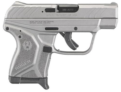 """Ruger LCP II 380 ACP 2.75"""" Barrel Stainless Steel Gray Cerakote 6 rd Mag"""