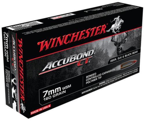 Winchester Supreme 7mm Win Short Mag AccuBond CT 160gr 20rd Box