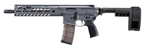"Sig MCX Virtus Pistol .300 AAC Blackout 9"" Barrel M-LOK Folding Stabilizing Brace Gray 30rd Mag"