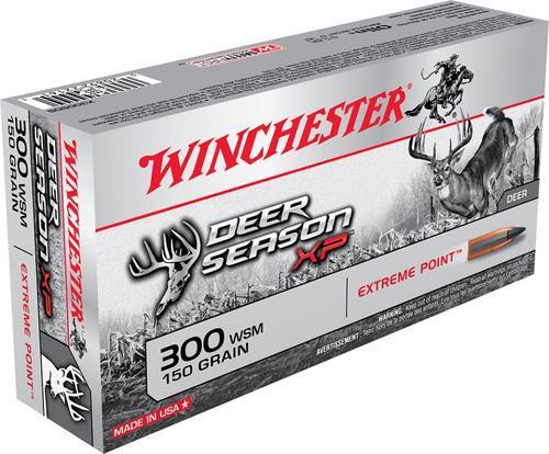 Winchester Deer Season, 300 WSM, 150 Gr, Poly Tip, 20rd Box
