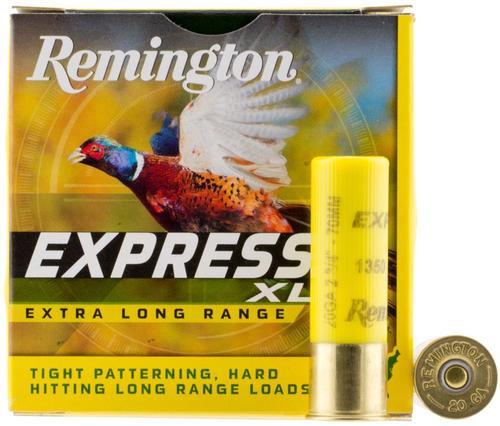 """Remington Express XLR 20 Ga, 2.75"""", 7/8oz, 7.5 Shot, 25rd/Box"""