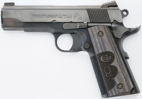 Colt Wiley Clapp Commander 9mm Novak Sights 9rd Mag - TALO Edition