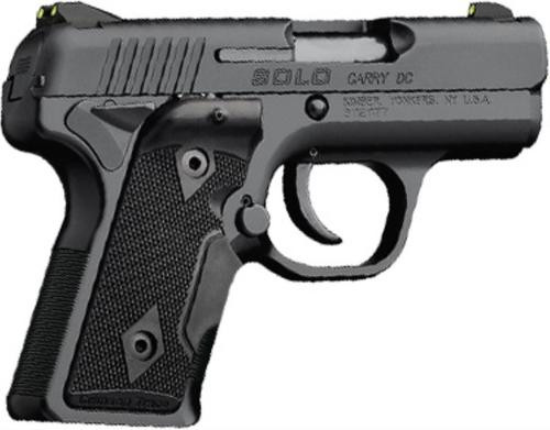 Kimber Solo Carry DCLG 9mm 3.5 Ambi Safety Crimson Trace Laser Grips Black