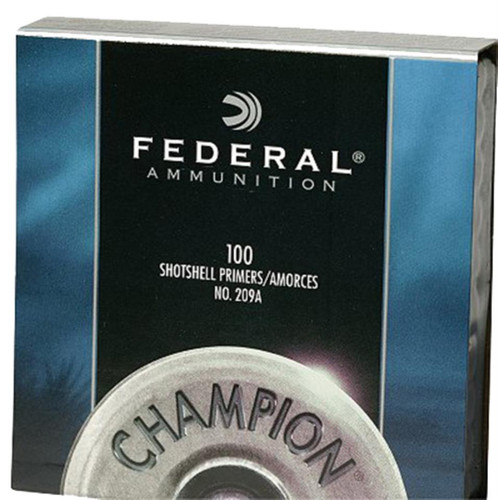 Federal Standard Small Magnum Pistol 1000 Primers (10 Boxes of 100 Primers)