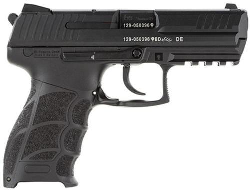 "HK P30 DA/SA 9mm, 3.86"", 10rd, No Manual Safety, Black"