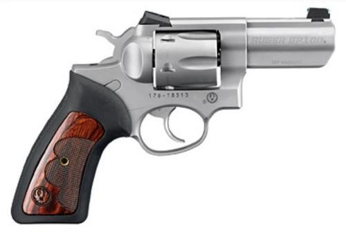 """Ruger GP100 Wiley Clapp Edition, 357 Mag, 3"""", Novak Sights, SS, TALO, 6rd"""