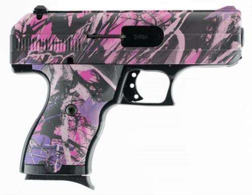 "Hi-Point C9 ,9mm, 3.5"", 8rd, Muddy Girl Pink Camo"