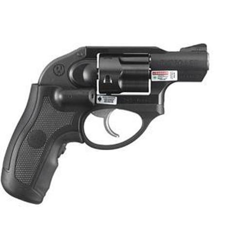 "Ruger LCR Revolver, .38 Special, 1.9"", 5rd,, Green Crimson Trace Laser"