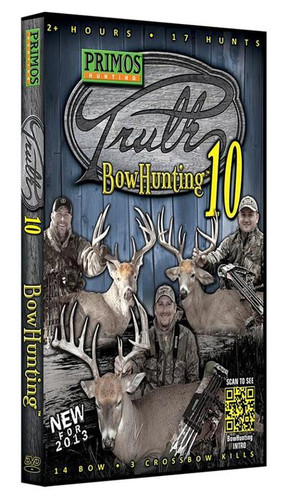Primos The Truth 10 - Bowhunting DVD 17 Hunts 14 Bow/3 Crossbow