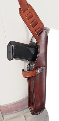 "Bianchi X-15 Shoulder Holster 2-3"" Barrel Small Revolvers Size 1 Plain Tan Right Hand"
