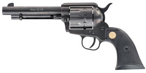 "Chiappa Firearms 1873 SAA, 22LR, 5.5"", 10rd, Black Synthetic Grip"