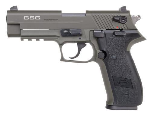 "GSG Firefly 22LR, 4"", 10rd, Green FinishATI GSG Firefly HGA .22Lr Green 4"" BL NO Thread 10Rd"
