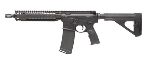 "Daniel Defense DDMK18 Pistol 5.56/223 10.3"" Chrome Lined Government Profile Barrel, Flat Dark Earth Rail System 30 Rd Mag"