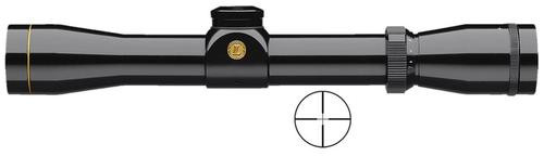 "Leupold VX-2 2-7x 28mm Obj 46.2-17.8ft@100yds FOV 1"" Tube Black Duplex"