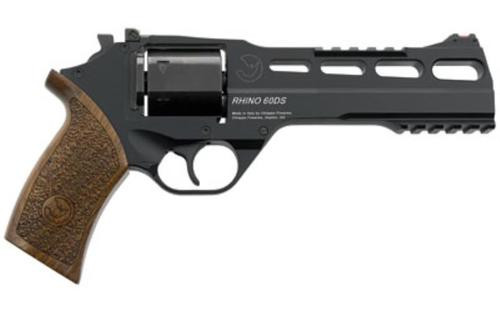 "Chiappa Rhino 60DS SAR, 9mm, 6"" Barrel, 6rd, Black Finish"