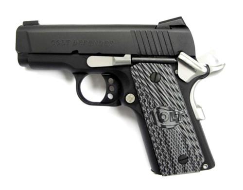 "Colt Defender 1911 45acp 3"" Barrel Bead Blast Finish 7rd Mag"