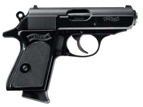 """Walther PPK/S .380 ACP, 3.3"""" Barrel, Blued, 2 Mags, 7rd"""