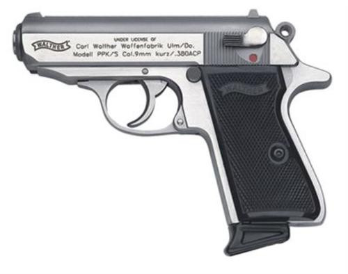 Walther PPK/S .380 ACP Stainless 7 Round, 2 Mags