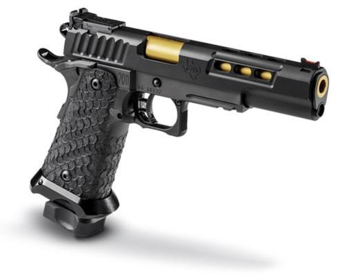 """STI DVC 3-Gun 9mm, DLC Finish, 5.4"""" Bushing Barrel, 2 X 10 RD. MAG"""