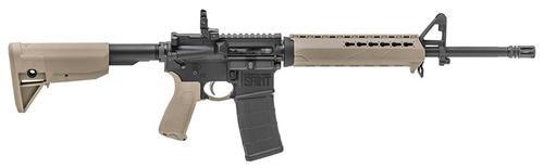 "Springfield Saint AR-15 5.56/223 16"" Barrel Flip Up Rear Sight KeyMod Flat Dark Earth 30rd Mag"