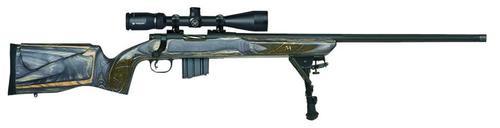 "Mossberg MVP Varmint Bolt 223 Remington/5.56 NATO 24"" Barrel, Laminate Benchr, 5rd"