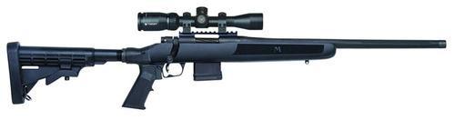 "Mossberg MVP Flex Bolt 223 Remington/5.56 NATO 18.5"" Barrel, 6-Position Blac, 10rd"